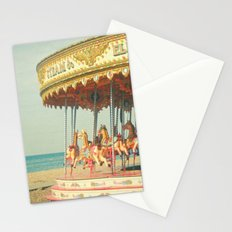 Seaside Carousel Stationery Cards