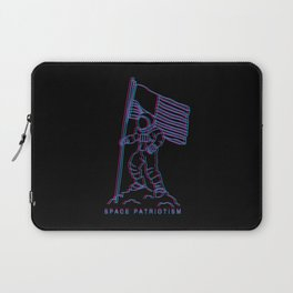 Patriotic Spaceman Laptop Sleeve