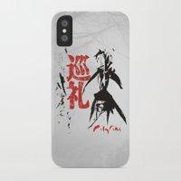 scott pilgrim iPhone & iPod Cases featuring Pilgrim by biblebox