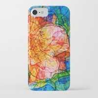 reassurance iPhone & iPod Cases featuring Flower III by Magdalena Hristova