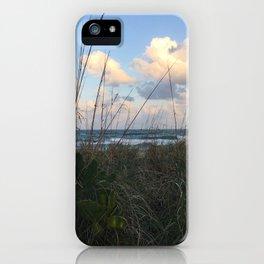Beach Overlook iPhone Case