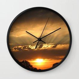 Sunshine Glow  Wall Clock
