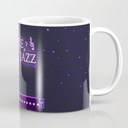 PURPLE JAZZ. Coffee Mug