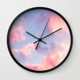 Whimsical Sky Wall Clock