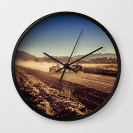 Hot Rods Sundown Wall Clock