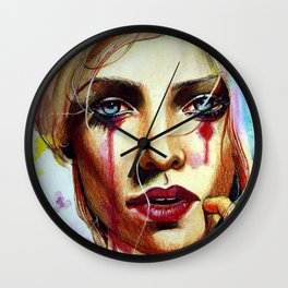 Scarlet (VIDEO IN DESCRIPTION!) Wall Clock