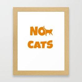 Cat tomcat gift Maine Coon Persian cat Siam Framed Art Print