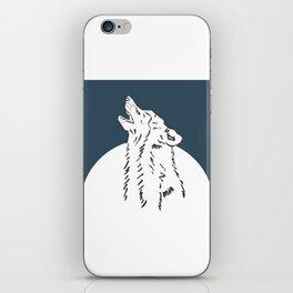 Pra Loup Howling Wolf iPhone Skin
