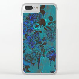Royal Roses Clear iPhone Case