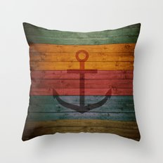 Anchor 1 Throw Pillow