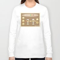 coffe Long Sleeve T-shirts featuring Irish Coffe by Ypsilon_bottega