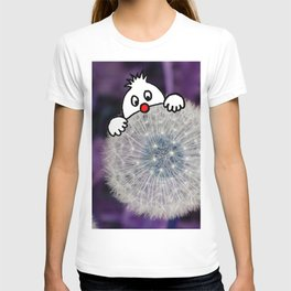 Fly with the dandelion T-shirt