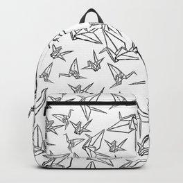 Origami Cranes Linocut Backpack