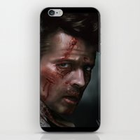 inner demons iPhone & iPod Skins featuring Inner Demons by Mel Hampson