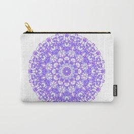 Mandala 12 / 1 eden spirit purple lilac white Carry-All Pouch