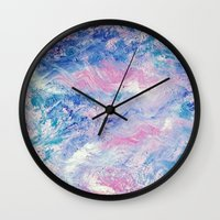 valentines Wall Clocks featuring Valentines by BritBoi