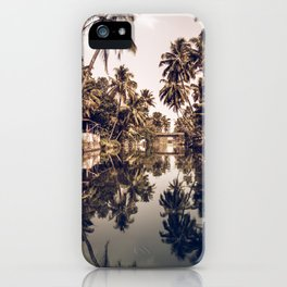 Kerala Backwater iPhone Case