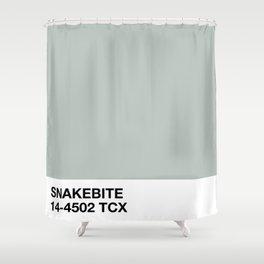 snakebite Shower Curtain
