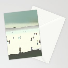 The Ice Rink Stationery Cards