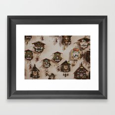 Cuckoo About You Framed Art Print