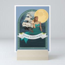 Dark and Stormy Mini Art Print
