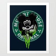Mutant Mouse Art Print