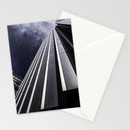 Urban Chrome Structure Stationery Cards
