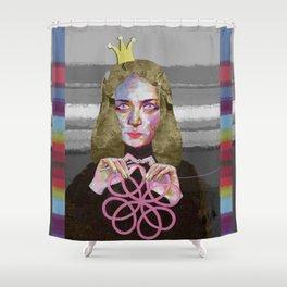 Queen of crochet Shower Curtain