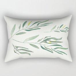 Eucalyptus Branches II Rectangular Pillow