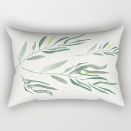 Eucalyptus Branches II Rectangular Pillow