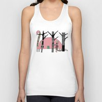 camping Tank Tops featuring Dino Camping  by bri.buckley