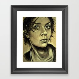 Drenched Breath (VIDEO IN DESCRIPTION!) Framed Art Print