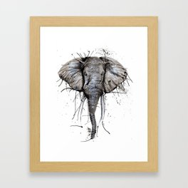Elephantish Framed Art Print