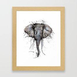Elephantish Framed Art Print