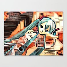 The Sentient Ship Canvas Print