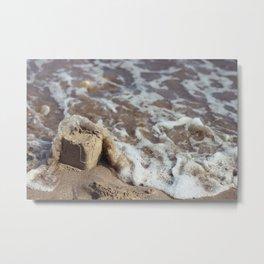 Sandcastle Metal Print