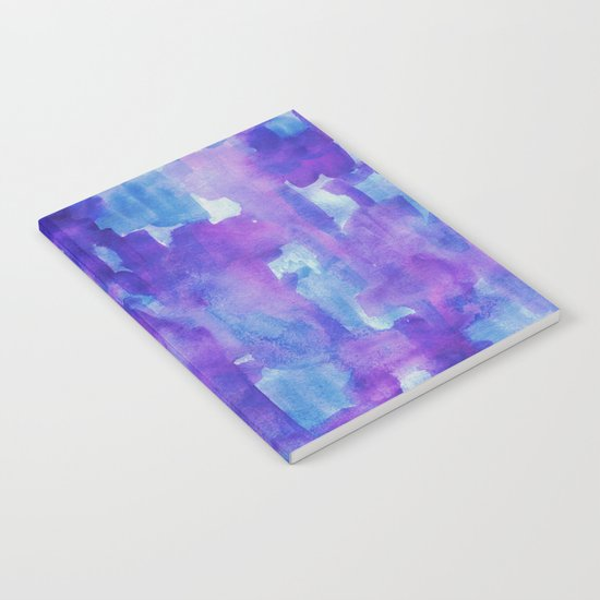 Blue & Purple Notebook