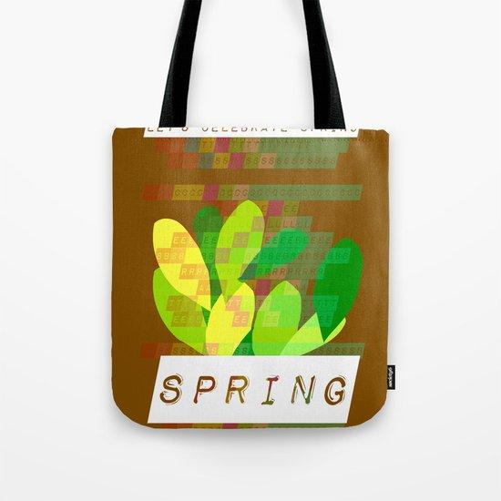 Celebrate Spring Tote Bag
