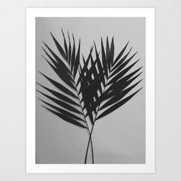 Palm Leaves #5 #foliage #decor #art #society6 Art Print
