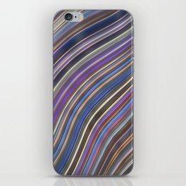 Wild Wavy Lines 12 iPhone Skin