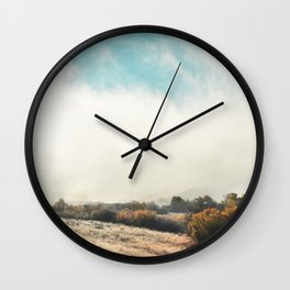 Fog in the Willows Wall Clock