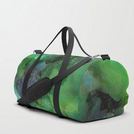 Alcohol Ink 'Galapagos' Duffle Bag