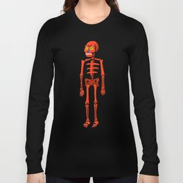 El red paper Long Sleeve T-shirt