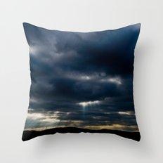Unconquered sun Throw Pillow