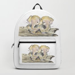 Happy Little Elephants Backpack
