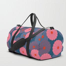 Midnight_blossom Duffle Bag