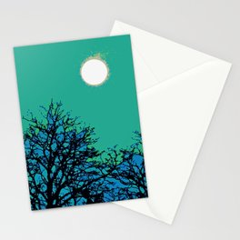 Moon Aflame Stationery Cards