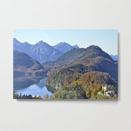 Castles in the Black Forest Metal Print