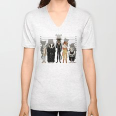 Unusual Suspects Unisex V-Neck