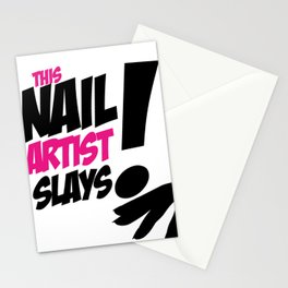 THIS NAIL ARTIST SLAYS Stationery Cards
